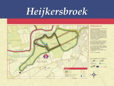 Wandelroute Heijkersbroek Ell 1