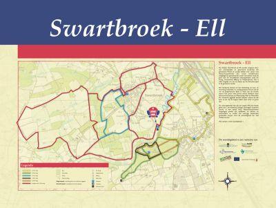 Wandelroute Swartbroek - Ell 1