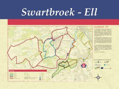 Wandelroute Swartbroek - Ell 3