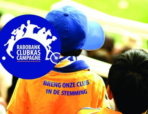 Rabobank Clubkas Campagne weer van start.