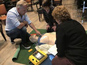 AED herhalingslessen reanimatie