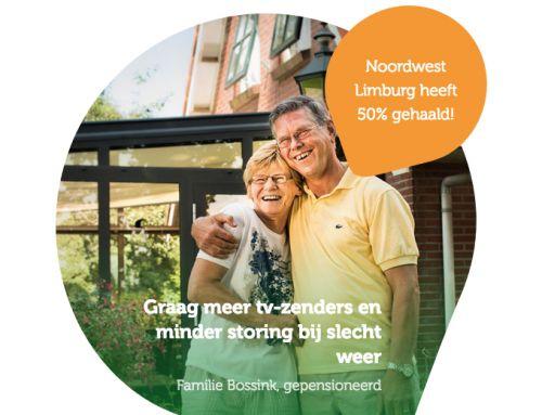 Glasvezel voor het buitengebied van Noordwest Limburg!