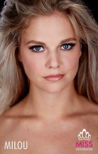 Milou Custers, Finaliste Miss Nederland