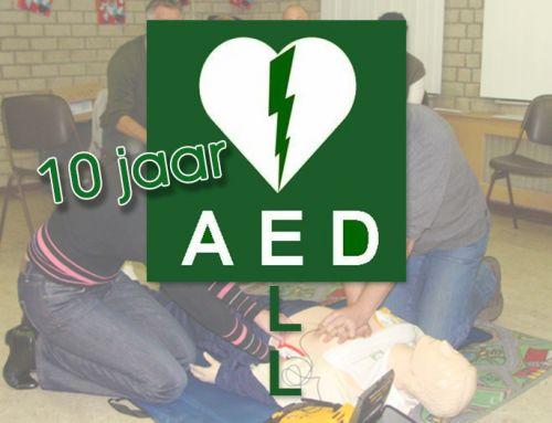 10 jaar AED Ell