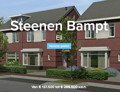 Project Steenen Bampt: Verkoop gestart!